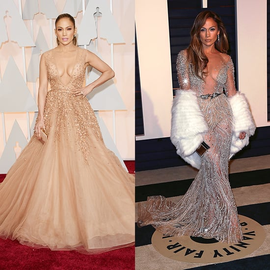 Celebrity Dress Changes from Oscars to After-Parties