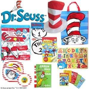 Dr. Seuss Showbag ($26) Includes:  Library Bag  T-Shirt transfers  Top hat
