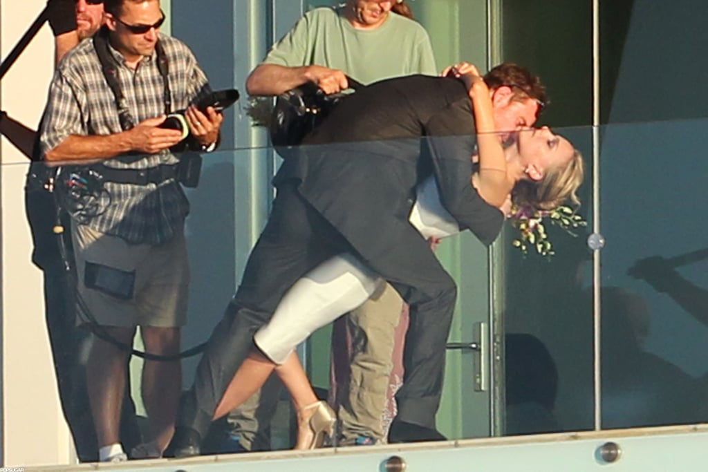 natalie portman and michael fassbender filmed a scene for
