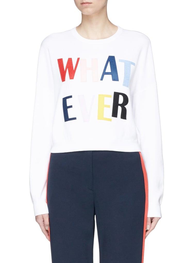 "Alice & Olivia ""Whatever"" Sweater"