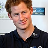 Prince Harry shared a smirk as he attended Walking With The Wounded's Walk of Britain launch event in London on Wednesday.