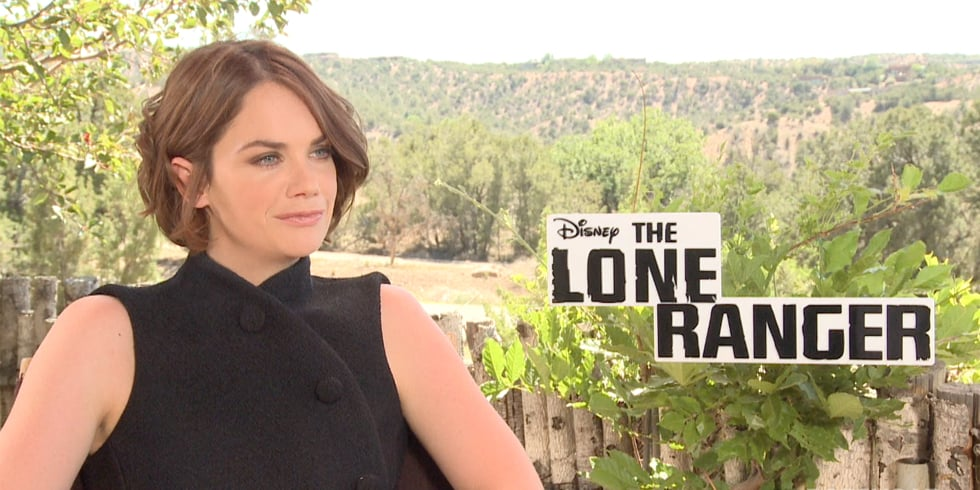 Ruth Wilson Interview For The Lone Ranger | Video