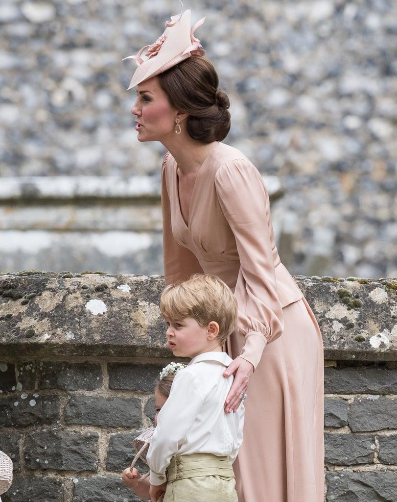Kate Middleton Alexander Mcqueen Dress At Pippa's Wedding  Popsugar Fashion