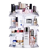 Miserwe Makeup Organizer 360 Degree Rotation 7 Layers Adjustable Storage