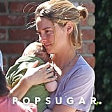 Shailene Woodley held a friend's baby.