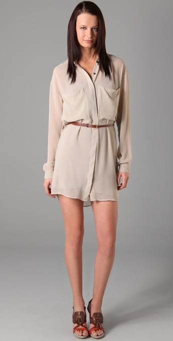 A pretty nude hue made in wispy fabric.  Patterson J. Kincaid Harlow Dress ($79, originally $158)