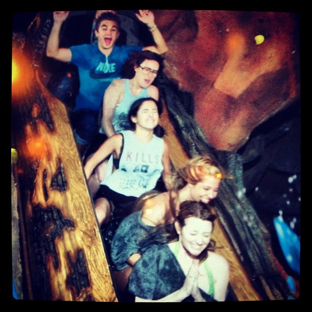 Rumer Willis took a trip to Disneyland.  Source: Instagram user ruelarue