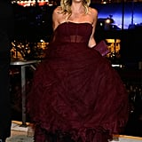 Kaleu Cuoco attended the 2013 Emmys Governors Ball.