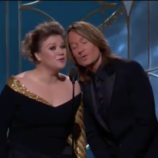 Kelly Clarkson and Keith Urban Singing 2018 Golden Globes
