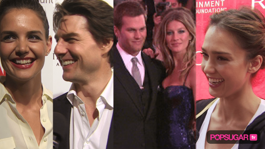 Tom Cruise and Katie Holmes on the Red Carpet, 2010 Costume Institute Gala, and Jessica Alba Working Out