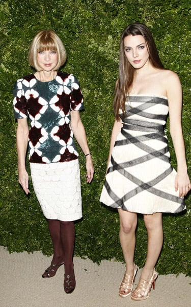 Anna Wintour and Bee Shaffer.