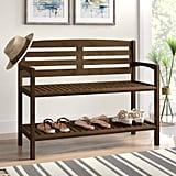 Hales Wood Storage Bench