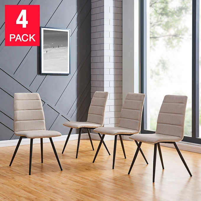 Dining Chairs, Pack of 4