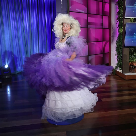 "Channing Tatum Singing ""Let It Go"" on Ellen Show Sept. 2017"