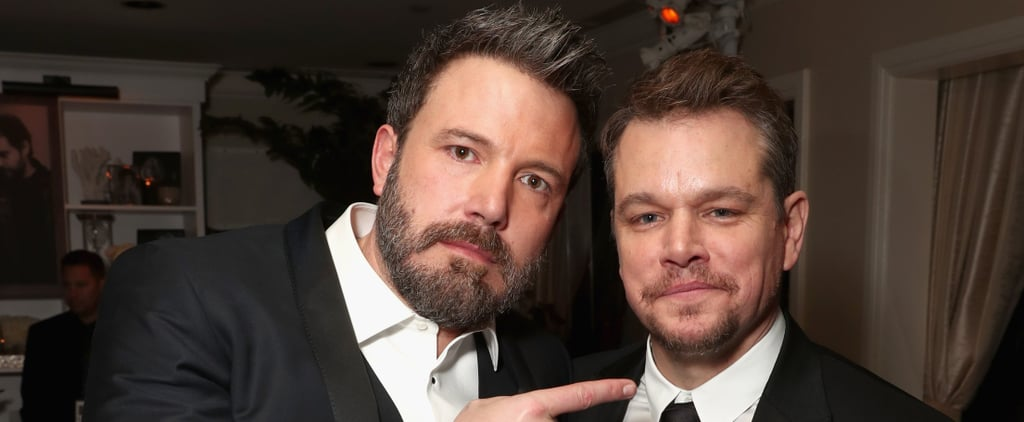 LOL: Even Matt Damon Can't Hide His True Feelings For Ben Affleck's MASSIVE Back Tattoo