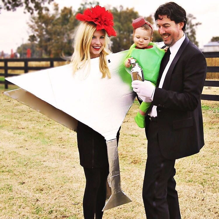 funny family halloween costumes popsugar moms - Baby And Family Halloween Costumes