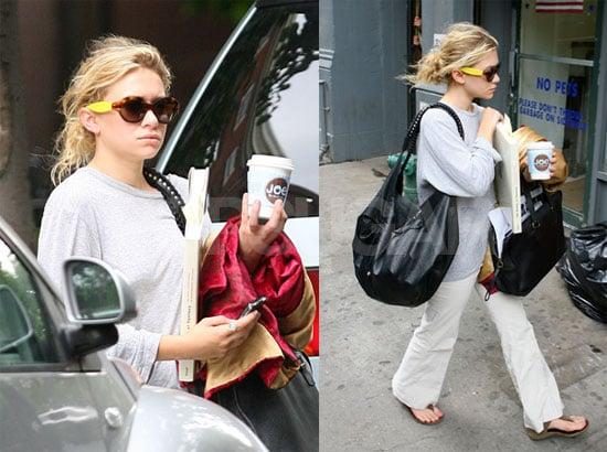 Photos of Ashley Olsen in New York City
