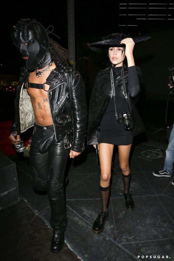 Kaia Gerber S Halloween Costume For Kendall Jenner S