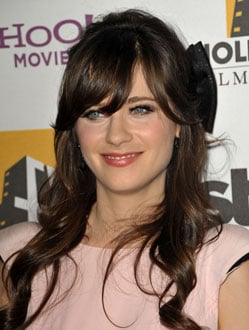 Zooey Deschanel's sparkly headband