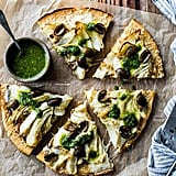 Roasted Fennel and Garlic Socca Flatbread