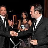 Brad Pitt and Jean Dujardin