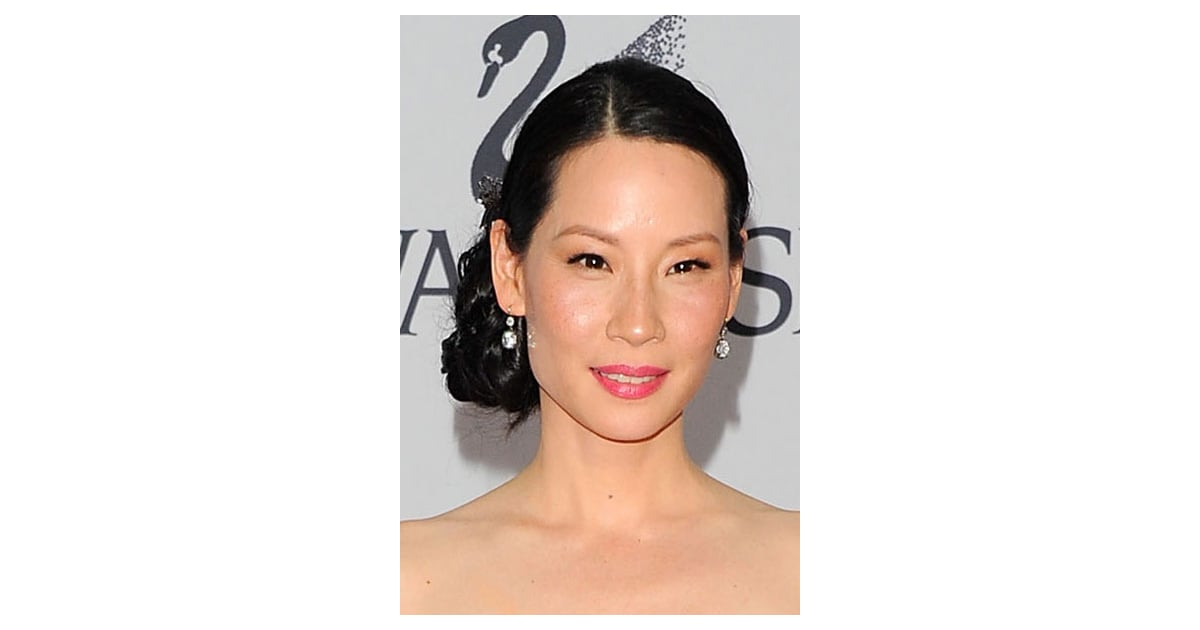 Lucy Liu Pictures Of Celebrity Hair And Makeup Looks From The 2011