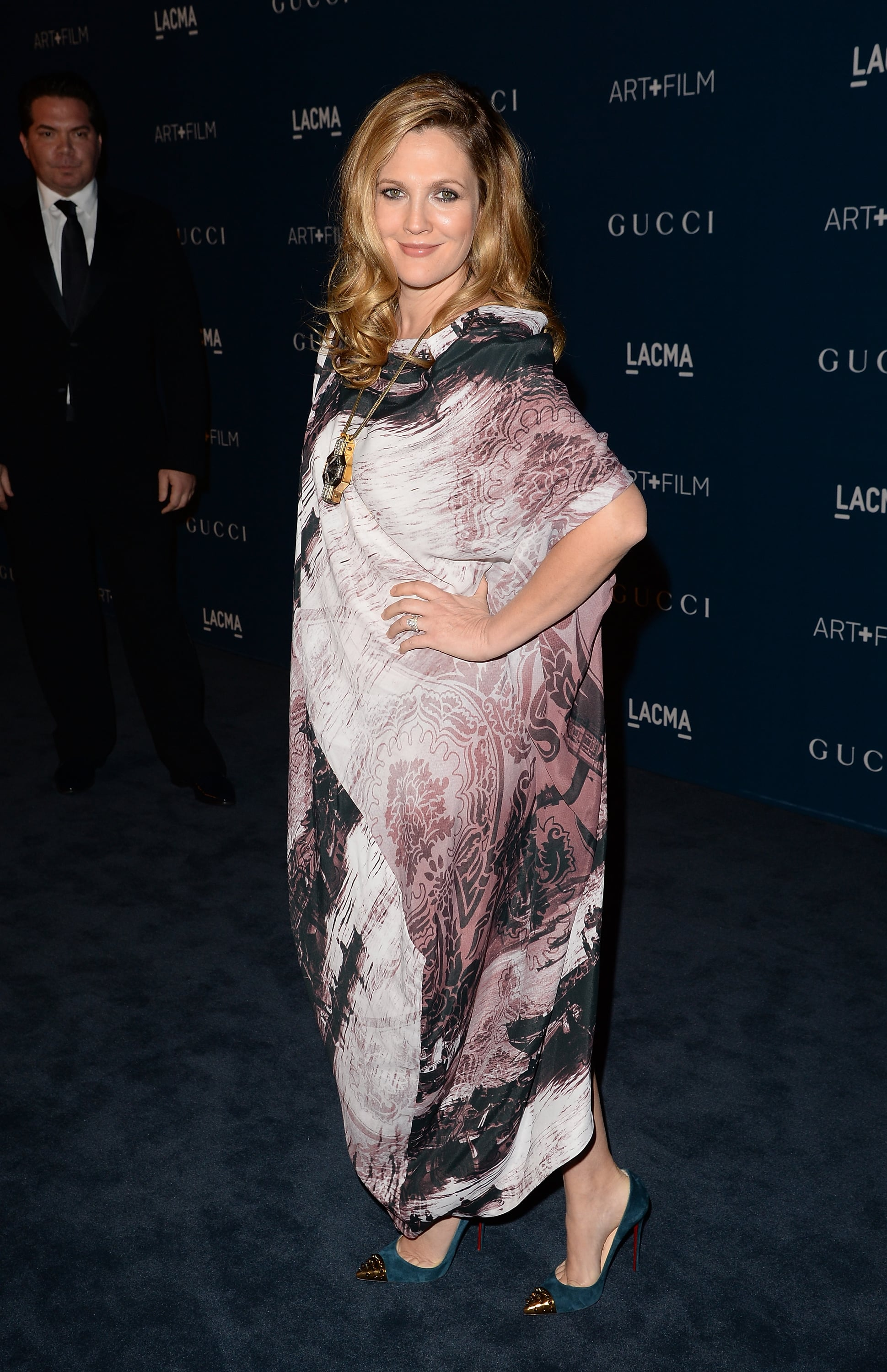 Drew Barrymore at the LACMA Art + Film Gala