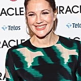 Drew Barrymore smiled big at the Big Miracle premiere.