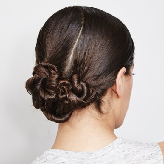 DIY Twisted Chignon