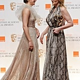 Winners and Presenters Congregate Backstage at the 2011 BAFTA Awards