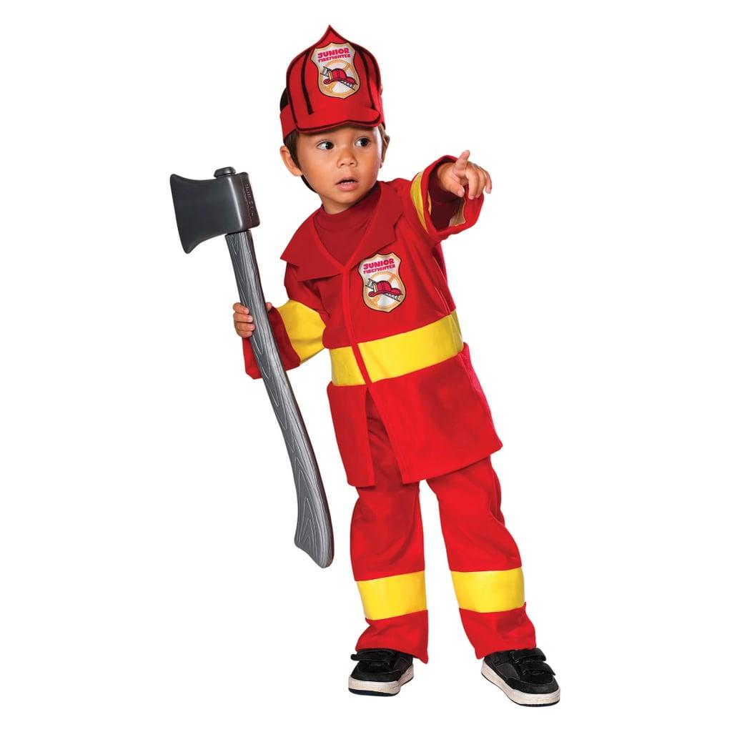 Toddler Junior Firefighter Halloween Costume