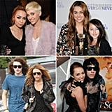Miley, Brandi, Braison, Noah, and Trace Cyrus