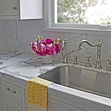 Replace any nonabsorbent kitchen towels.