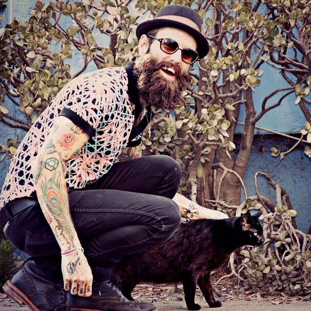 Men With Beards and Cats