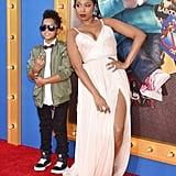 Jennifer Hudson at LA Sing Premiere With Son December 2016