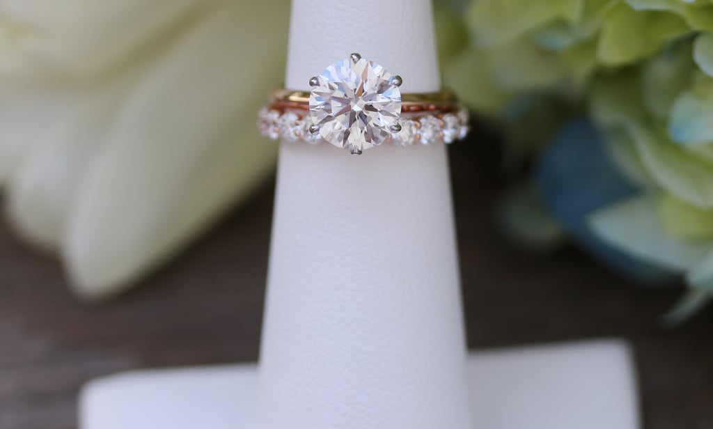 For a Round Solitaire Diamond Engagement Ring