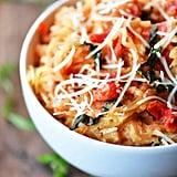 Tomato Basil Spaghetti Squash