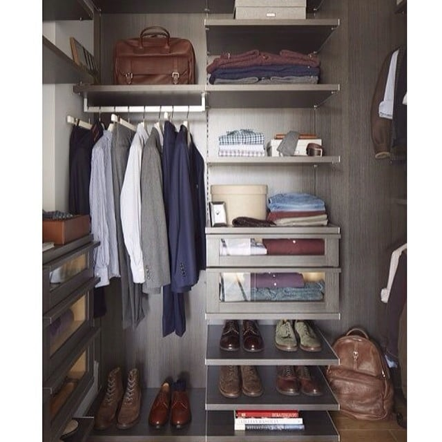 Men Are Dying For More Closet Space