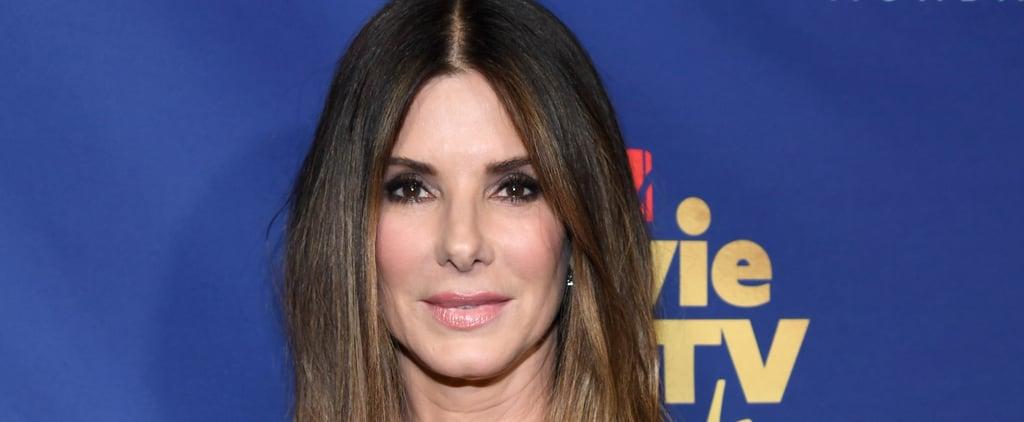 Sandra Bullock's New Lob Haircut