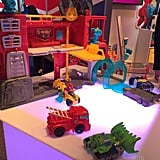 Playskool Heroes Rescue Bots Fire House Headquarters