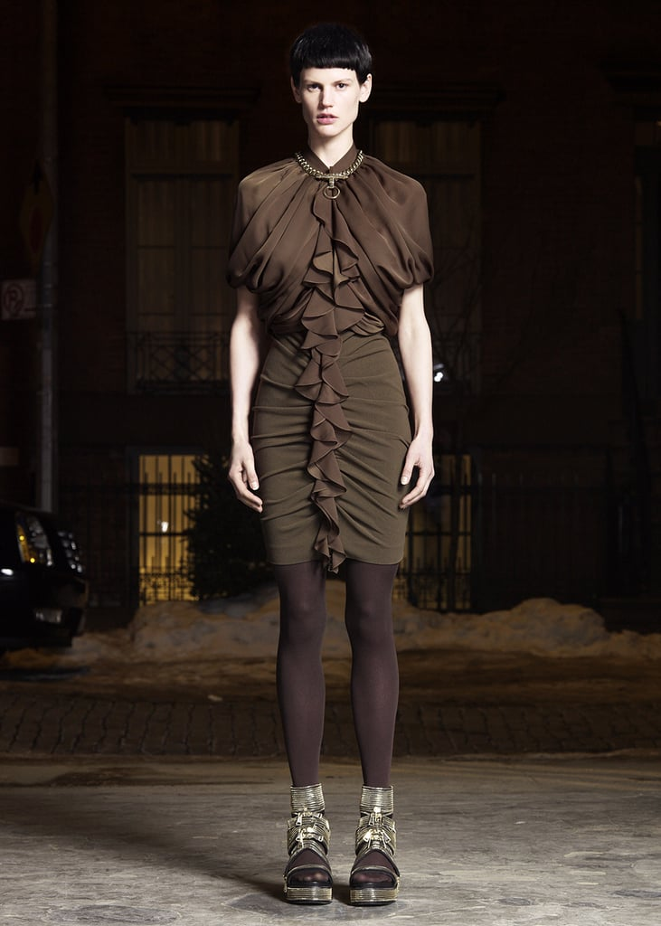 Riccardo Tisci Moves on from Leopard for Givenchy Pre-Fall 2011