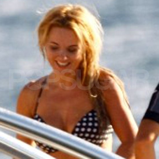 Geri Halliwell Bikini Pictures After Split From Henry Beckwith