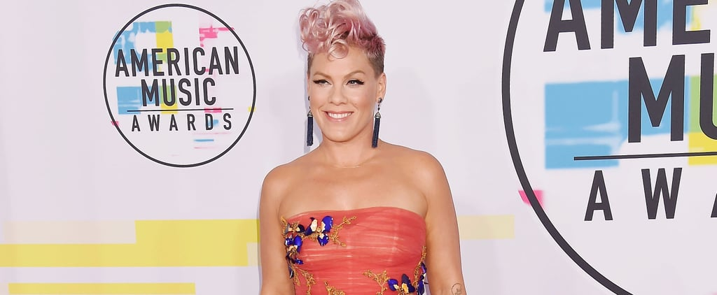 Pink Talks About Christina Aguilera's AMAs Performance
