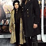 Jason Momoa and Lisa Bonet at Live by Night LA Premiere 2017