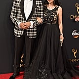 Terrence Howard and Miranda Pak