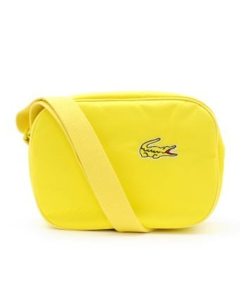 We love this sporty Lacoste Antares Hobo Shoulder Bag ($95).