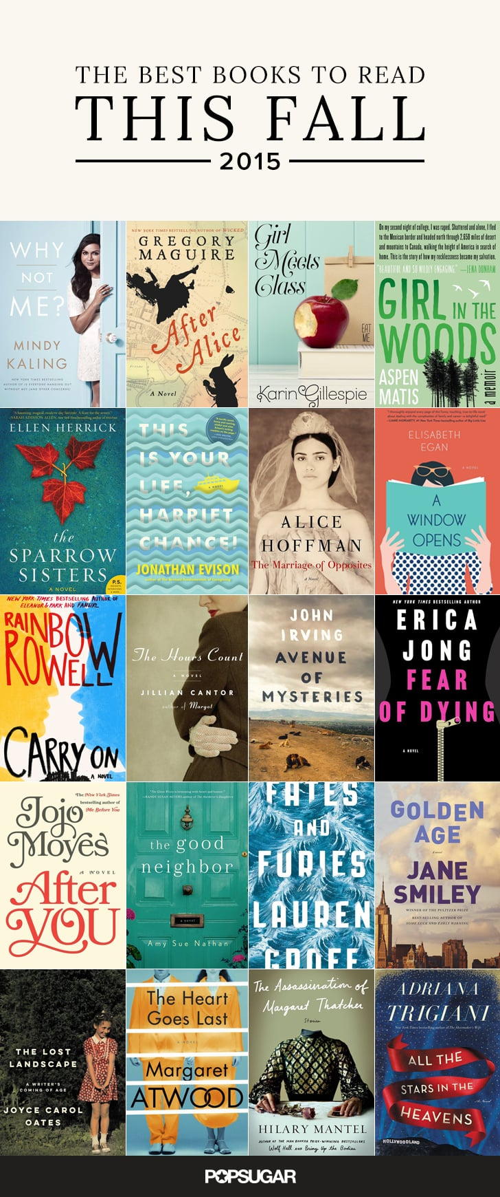 Best 2015 Fall Books For Women