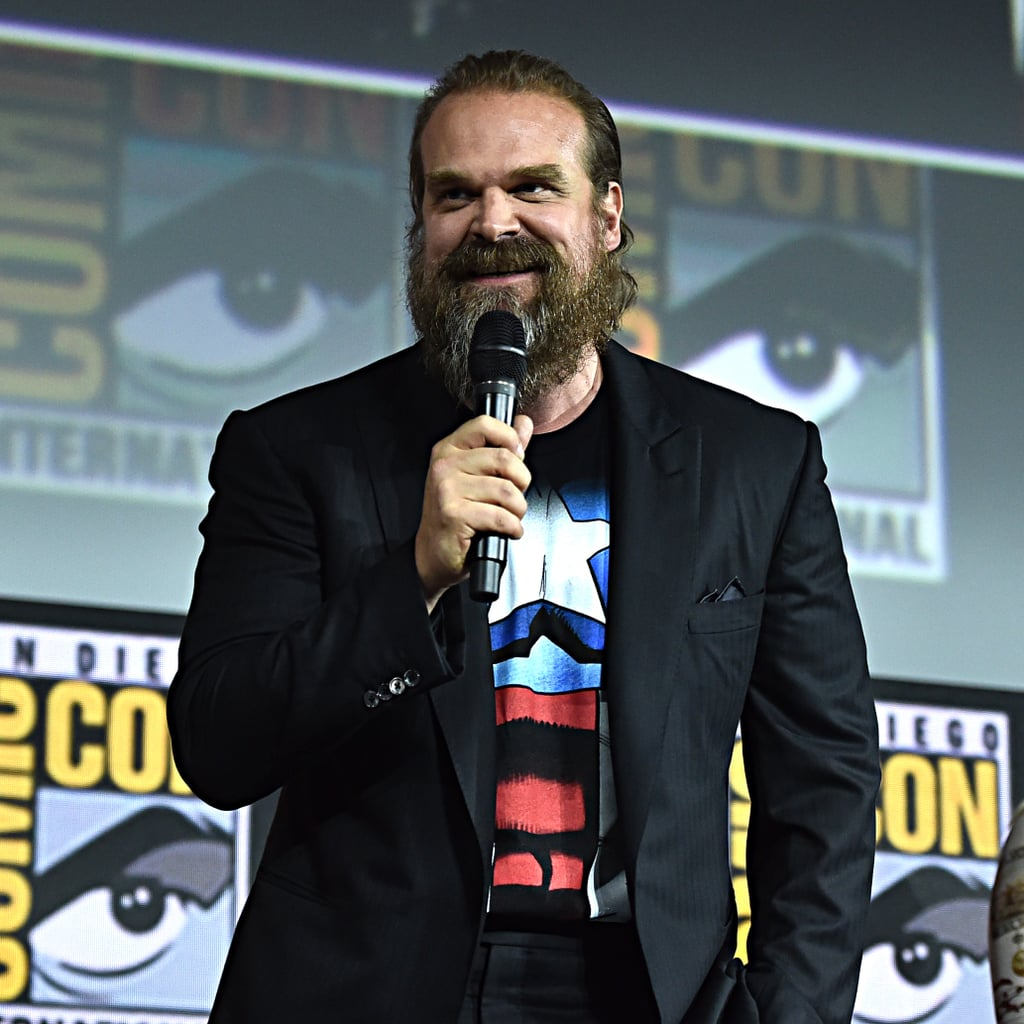 Pictured: David Harbour at San Diego Comic-Con.