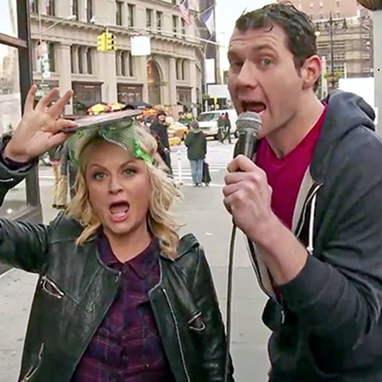 Amy Poehler's Pitbull Skit on Billy on the Street