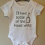 """House White"" Onesie"